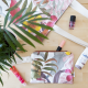 Tote bag + neceser tropical